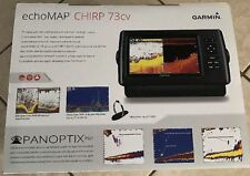 New Garmin echoMAP 73cv Inland CHIRP Fish Finder/Chartplotter Combo 010-01800-01