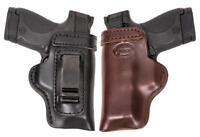 HD Concealed RH LH OWB IWB Leather Gun Holster For Ruger SR9c w/ CT Laserguard