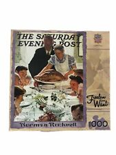 The Saturday Evening Post Jigsaw Puzzle Signature 1000 Norman Rockwell