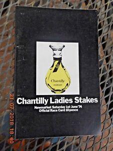 NEWMARKET RACECARD   1 JUNE 1974