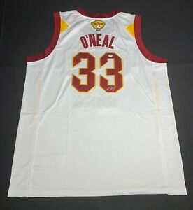 Shaquille O'Neal Signed Cleveland Cavaliers Jersey PSA 9A24379 Shaq Autographed