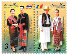 4 x tailandia and Romania joint issue 31.5.2018