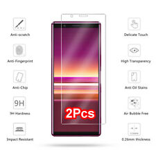 2-Pack Premium 9H Tempered Glass Film Screen Protector For Sony Xperia 5 Guard