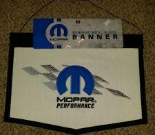 mopar performance wool banner garage man cave car bar sign