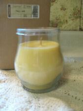 Longaberger Tall Jar Juicy Pear Candle