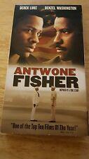 """ANTWONE FISHER "" STARRING -DENZEL WASHINGTON & DEREK LUKE -VHS -CLASSIC !!"