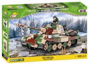 COBI PZKPFW VI Ausf. B KonigsTiger Tank SET# 2540 (1000 Pcs.) US SELLER, WWII