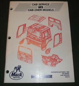 MACK MS CAB-OVER MODELS TRUCK SERVICE SHOP WORKSHOP MANUAL