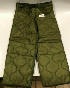 original Militär M65 Thermoshose Futter Cold Weather Trousers Nylon  #A0352