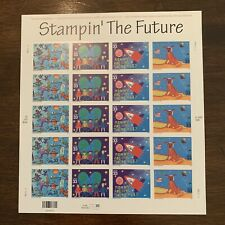 #3414-7 - 33¢ Stampin' the Future Issue - Mnh Sheet of 20 Fv $6.60
