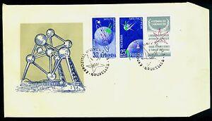 1958 Satellites,Space,Sputnik,Brussels,Bruxelles,Romania,1718,1720,II,FDC,ERROR