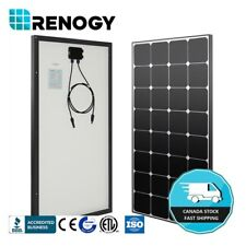 Renogy Eclipse 100 Watt Mono Solar Panel 100W 12V PV Power Trailor Marine