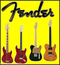 HUGE SET FENDER MANUALS SCHEMATICS Guitar AMPs Wiring DIAGRAMS BEST & FASTEST CD