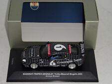 """1/43 IXO Maserati Grand Sport Troffeo  """"Zegna"""" Mugello 2006 Car #1"""