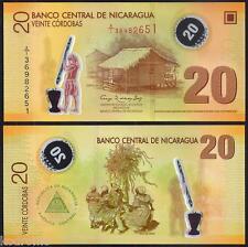 NICARAGUA  20 Cordobas Polymer 2007 ( 2012 ) UNC P 202 b