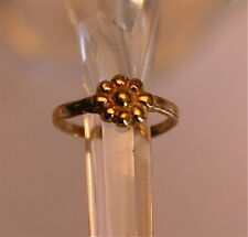 New 9ct Gold Toe Ring with Flower Design!
