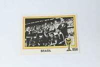 ARGENTINA 78 WORLD CUP SQUADRA BRASILE 1958 NEW VELINA PANINI N° 19  [J3631]