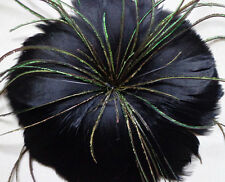 Free shipping 1-10 pcs Beautiful feather flower for headdress ,Select color