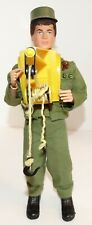 GI Joe Vintage AT Adventure Team 1972 Man of Action w/Chest Winch Incomplete