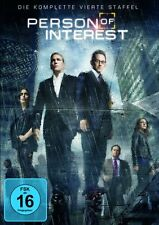 6 DVD-Box ° Person of Interest ° Staffel 4 ° NEU & OVP