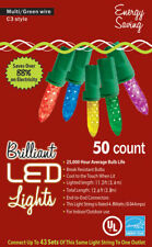 Morris Costumes Decorations & Props Christmas Lights 50L C3 Multi Colored. MA945