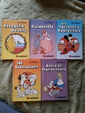 Ladybird job lot x 5 Disney incl Cinderella, 101 Dalmatians and Sleeping Beauty!