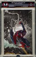 🔥 Miles Morales Spider-Man 19 SKAN HOMAGE ASM 300 EGS 9.8 not CGC TOD MCFARLANE