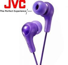 JVC HA-FX7 VIOLET Gumy Plus In-Ear Earbud Headphones with Bass Boost HAFX7V /NEW