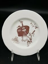 """Vtg Padstow May Day 1979 'OBBY 'OSS Hobby Horse 6.5"""" Bone China Souvenir Plate"""