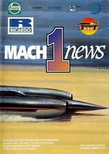 Richard Noble / Andy Green Thrust SSC Land Speed Record 3rd Issue of Mach 1 News