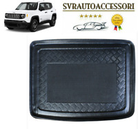 VASCA PROTEGGI BAULE SPECIFICA IN GOMMA PER JEEP RENEGADE 2014>