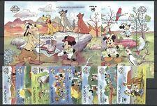 Walt Disney, Sydpex - Grenada - 1806-1813, Bl.210-211 ** MNH 1988