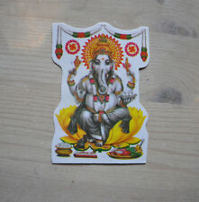Aufkleber goa psy hippie Glücks Gott Ganesha Ganesh sticker indien Inde India