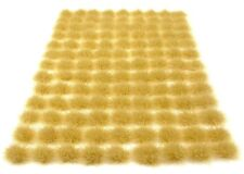 x117 Dry grass tufts 6mm - Self adhesive static model wargames scenery