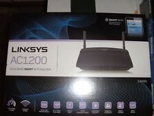 NEW  Linksys AC1200 Dual Band Smart Wi-Fi Router EA6100 - FAST SHIPPING sealed