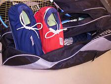 Tennis Überz. Schuhe für Ihre Tennisschuhe in der Tennistasche und die Asche ble