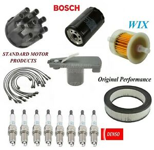 Tune Up Kit Filters Cap Rotor Wire Spark Plugs For PLYMOUTH PB300 V8 5.9L 1979