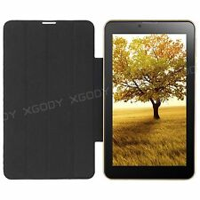 XGODY 7 inch GSM 3G Dual Sim Android Mobile Phone Phablet Bundle Leather Case