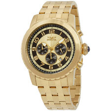 Invicta Specialty Gold Chronograph Mens Watch 19463