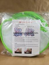 Mesh pop up food covers -*Set of 8*- Green- from QVC - 5 sizes