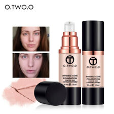 4Colors Foundation Liquid Cover Concealer Cream  Makeup Base Sweatproof  Pro.