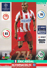 2014/15 Adrenalyn XL Champions League OLYMPIACOS FC Eric Abidal MASTER No.198