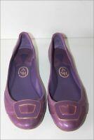 ASH Ballerines Tout Cuir Violet Doublées Cuir T 37 TTBE