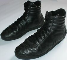 Just Cavalli Leather Hi Top Boots - UK Size 10.5 - Black - Mens B Ball Trainers
