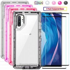 Samsung Galaxy Note 10/Note 10 Plus Case Clear Shockproof Cover Screen Protector