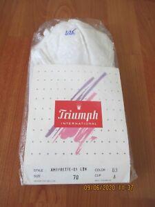 Triumph International Lacy Corset Bustier Amourette 0-1 LDN (Size 70 Cup A)