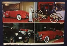 Victoria British Columbia The Classic Car Museum Vintage Post Card Canada