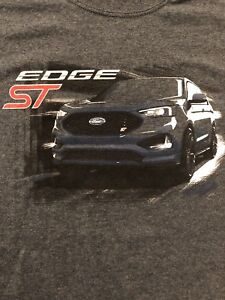 Ford Edge ST Racing Ford Performance GT,gt500,Raptor,RS,ST Mens T Shirt Size Lg