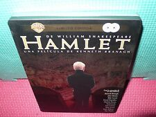 hamlet - steelbook - branagh - shakespeare - 2 dvds -