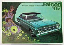1967 Ford Falcon Sales Brochure Furtura Sports and Club Coupes 4 Dr Sedan Wagon